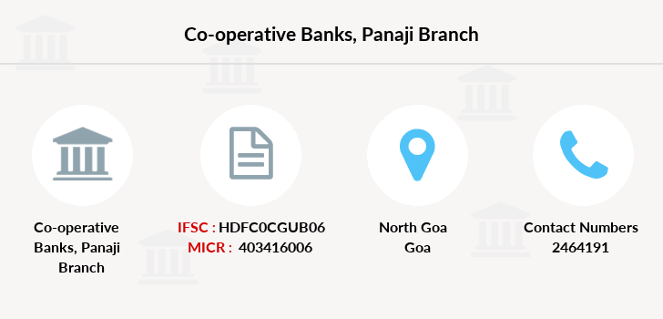 Co-operative-banks Panaji branch