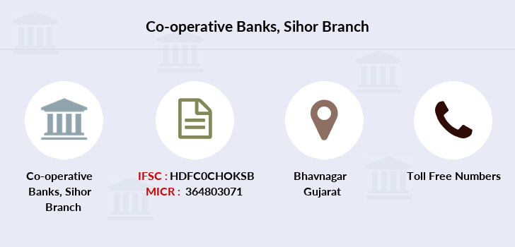Co-operative-banks Sihor branch