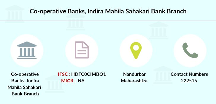 Co-operative-banks Indira-mahila-sahakari-bank branch