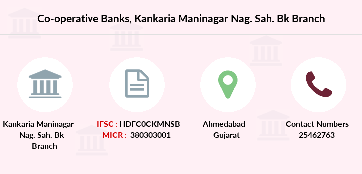 Co-operative-banks Kankaria-maninagar-nag-sah-bk branch