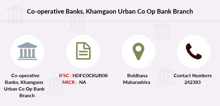 Co-operative-banks Khamgaon-urban-co-op-bank branch