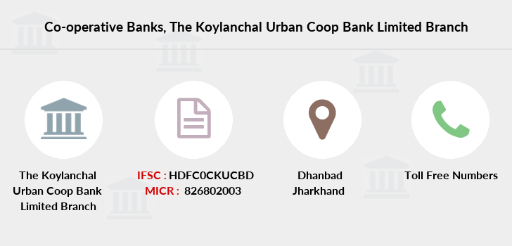Co-operative-banks The-koylanchal-urban-coop-bank-limited branch