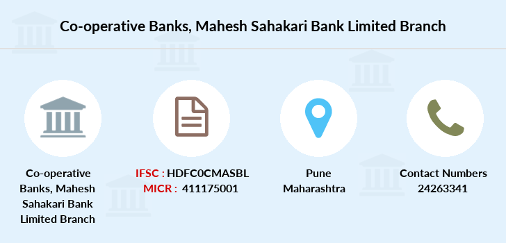 Co-operative-banks Mahesh-sahakari-bank-limited branch