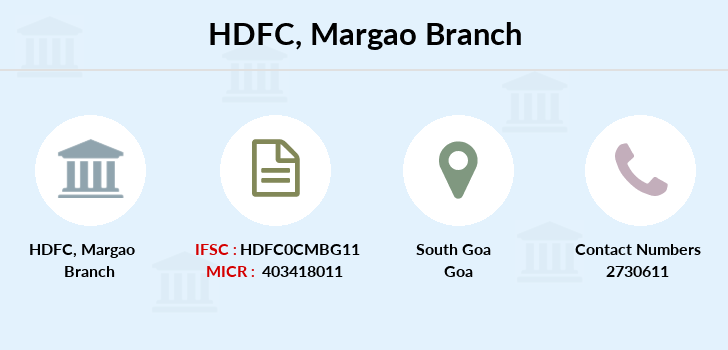 Hdfc-bank Margao branch