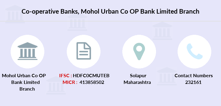 Co-operative-banks Mohol-urban-co-op-bank-limited branch