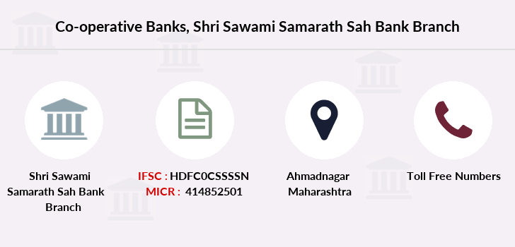 Co-operative-banks Shri-sawami-samarath-sah-bank branch