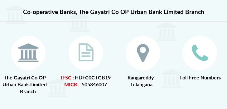 Co-operative-banks The-gayatri-co-op-urban-bank-limited branch