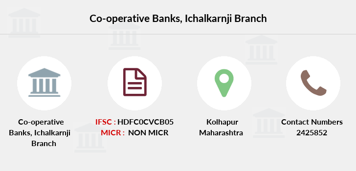 Co-operative-banks Ichalkarnji branch