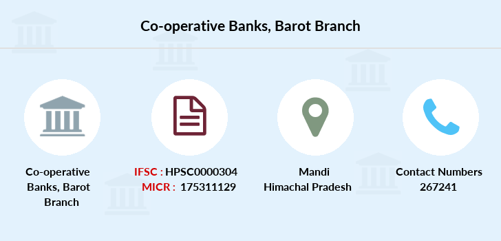 Co-operative-banks Barot branch