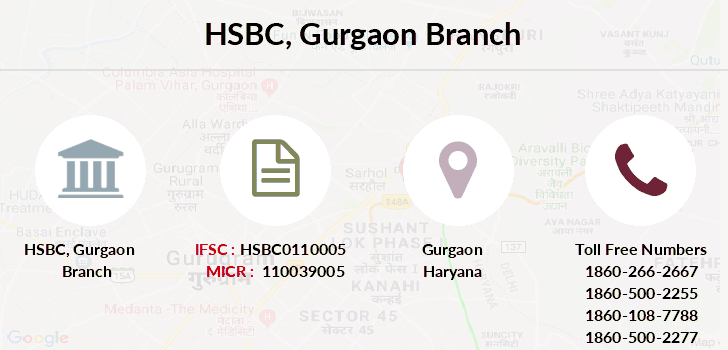 Hsbc-bank Gurgaon branch