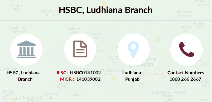Hsbc-bank Ludhiana branch