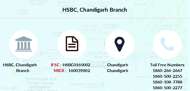how to find ifsc code for hsbc credit card