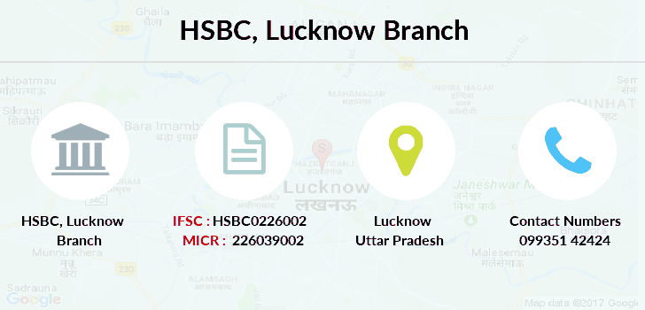 Hsbc-bank Lucknow branch