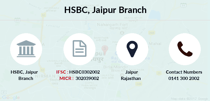 Hsbc-bank Jaipur branch