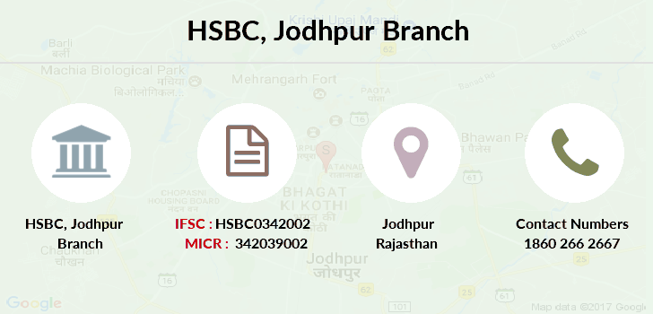 Hsbc-bank Jodhpur branch