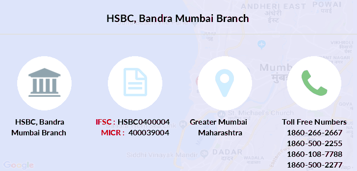 Hsbc-bank Bandra-mumbai branch