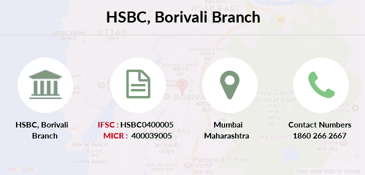 Hsbc-bank Borivali-mumbai branch