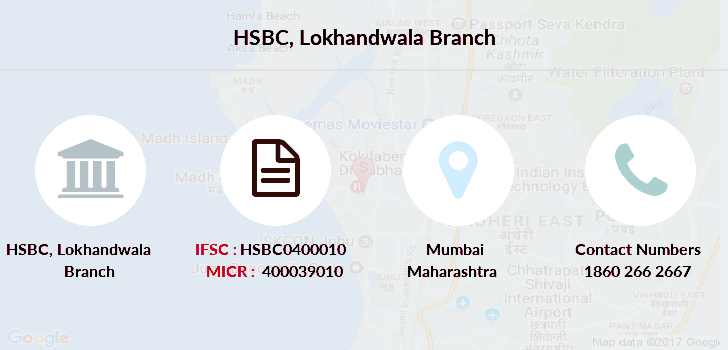 Hsbc-bank Lokhandwala-mumbai branch