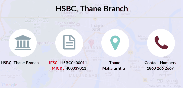 Hsbc-bank Thane branch