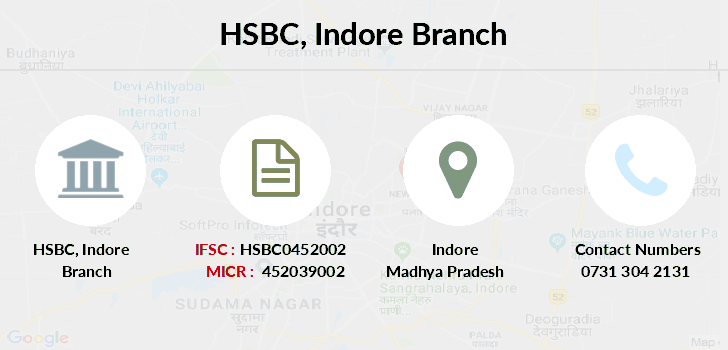 Hsbc-bank Indore branch
