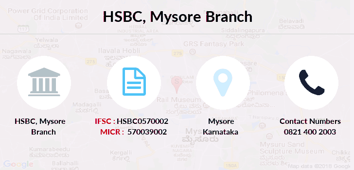 Hsbc-bank Mysore branch