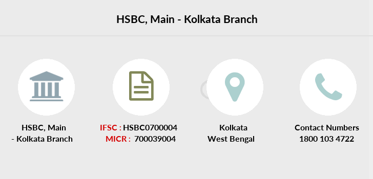 Hsbc-bank Main-kolkata branch