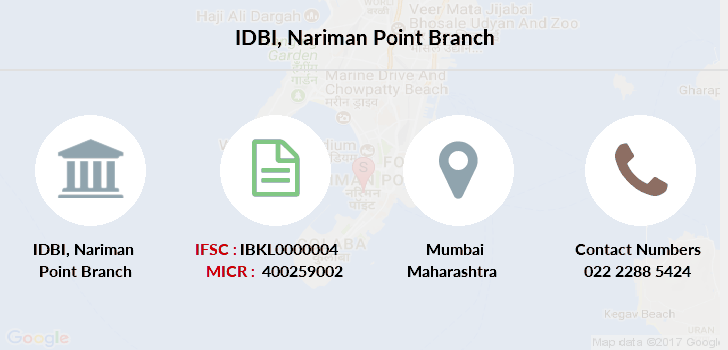Idbi-bank Nariman-point branch
