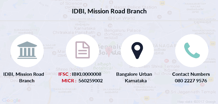 Idbi-bank Mission-road branch