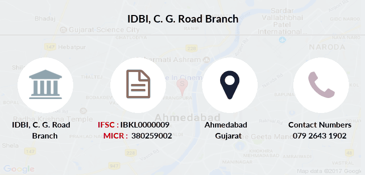 Idbi-bank C-g-road branch