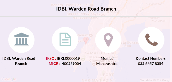 Idbi-bank Warden-road branch