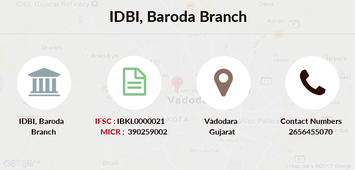 Idbi-bank Baroda branch