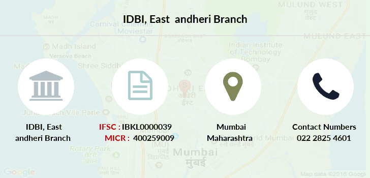 Idbi-bank East-andheri branch
