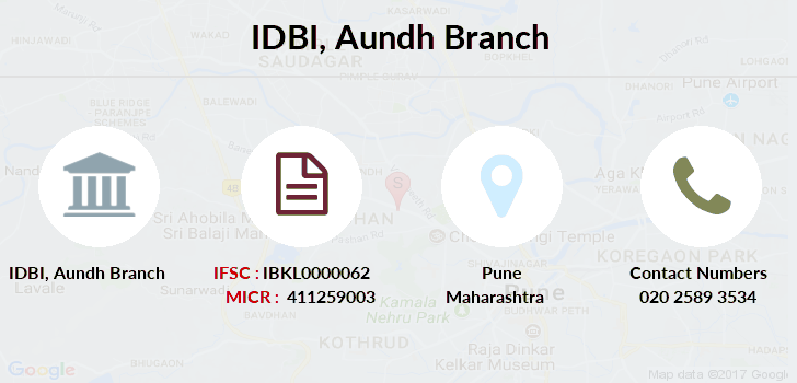 Idbi-bank Aundh branch