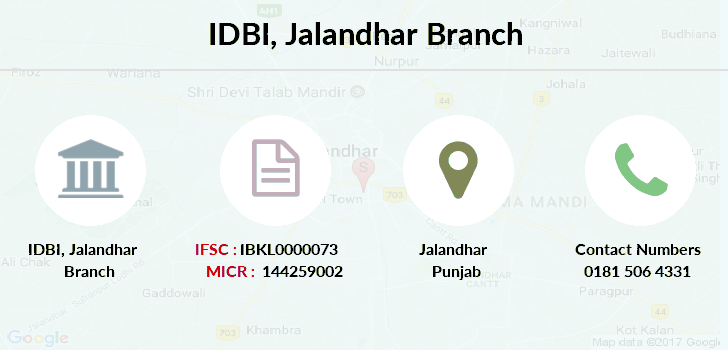 Idbi-bank Jalandhar branch