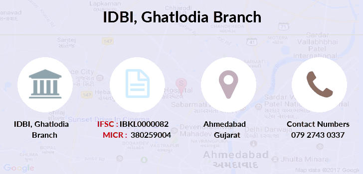Idbi-bank Ghatlodia branch