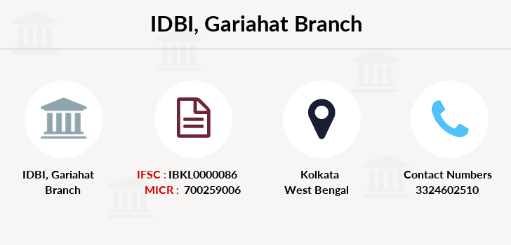 Idbi-bank Gariahat branch