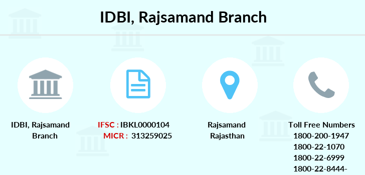 Idbi-bank Rajsamand branch