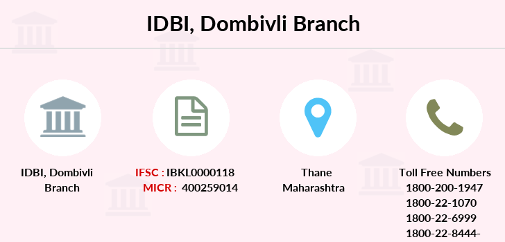 Idbi-bank Dombivli branch