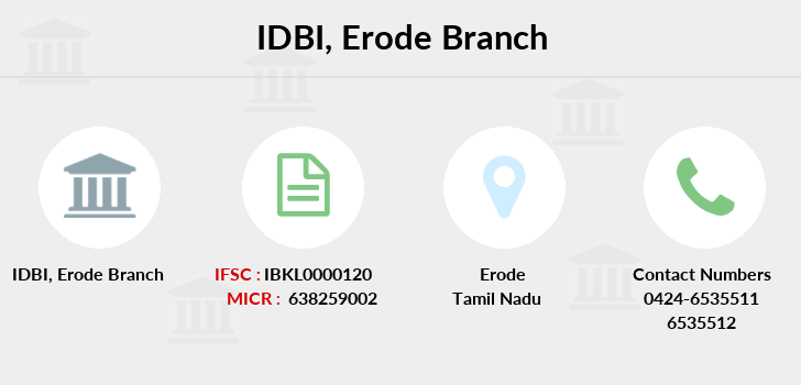 Idbi-bank Erode branch