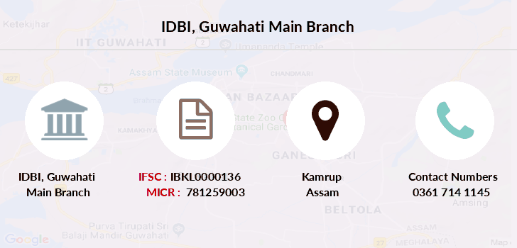 Idbi-bank Guwahati-main branch