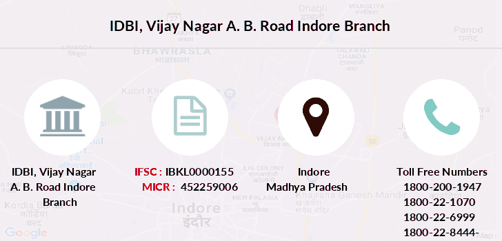 Idbi-bank Vijay-nagar-a-b-road-indore branch