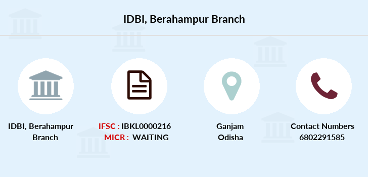 Idbi-bank Berahampur branch
