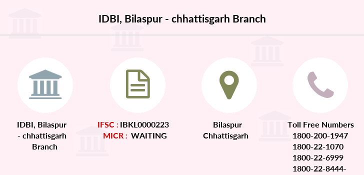 Idbi-bank Bilaspur-chhattisgarh branch
