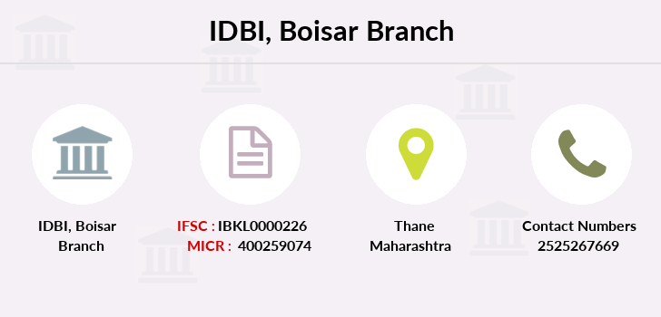 Idbi-bank Boisar branch