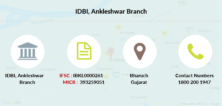 Idbi-bank Ankleshwar branch