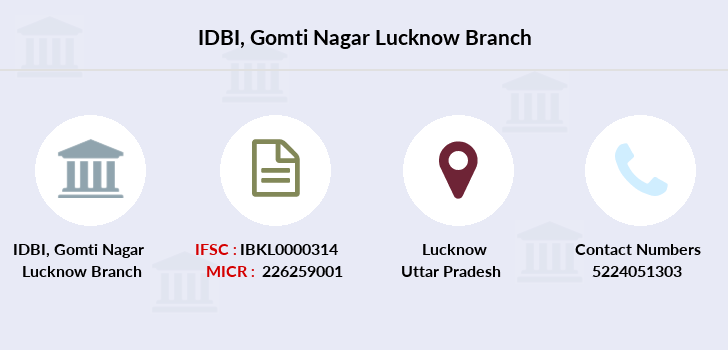 Idbi-bank Gomti-nagar-lucknow branch