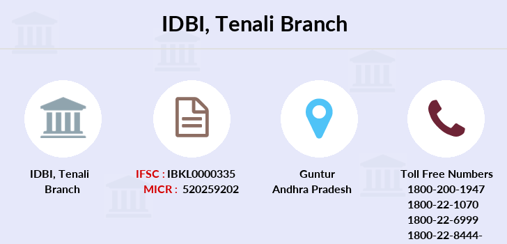 Idbi-bank Tenali branch