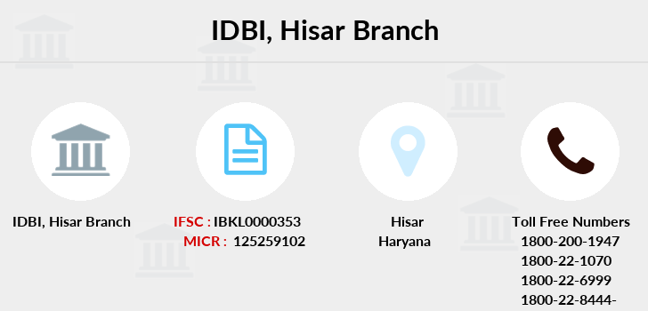 Idbi-bank Hisar branch