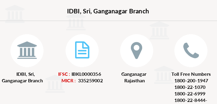 Idbi-bank Sri-ganganagar branch