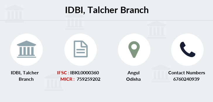 Idbi-bank Talcher branch